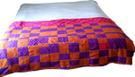 Embroidered Kente Duvet