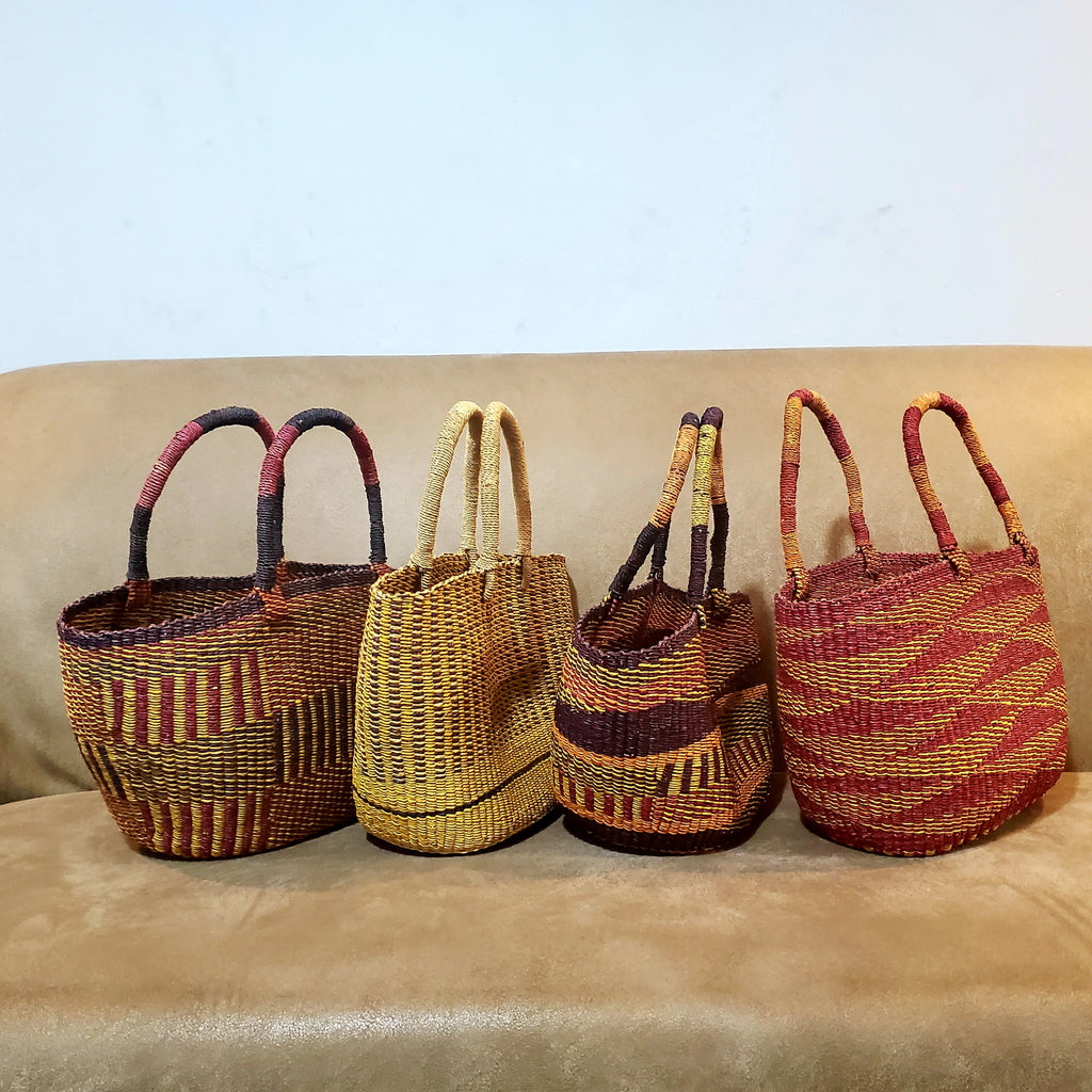Handwoven Bolgatanga Baskets
