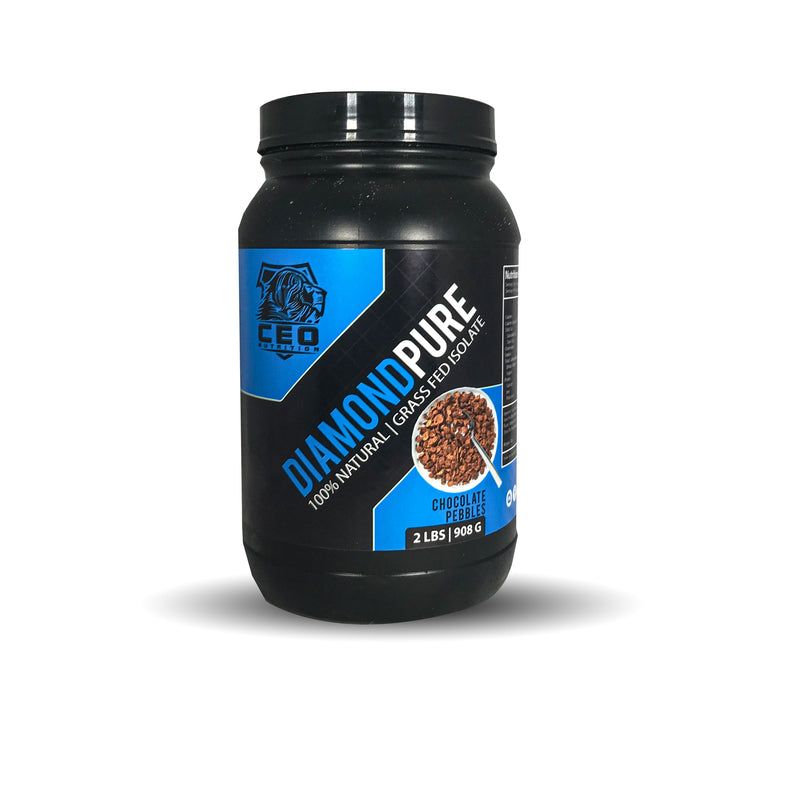 2lbs Diamond Pure 100% Isolate Protein