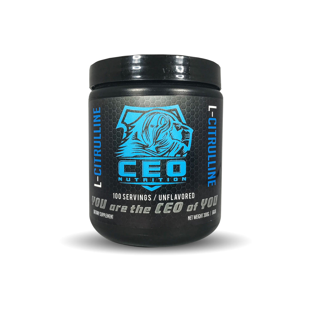 L-Citrulline - BCAA - CEO NUTRITION
