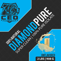 2lbs Diamond Pure 100% Isolate Protein - CEO NUTRITION