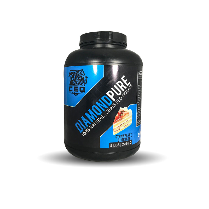 5lbs Diamond Pure 100% Isolate Protein