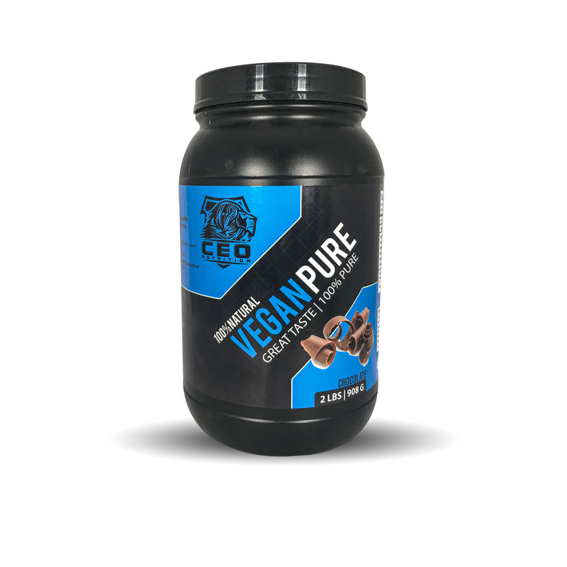 2lbs Vegan Pure 100% Isolate Protein - CEO NUTRITION