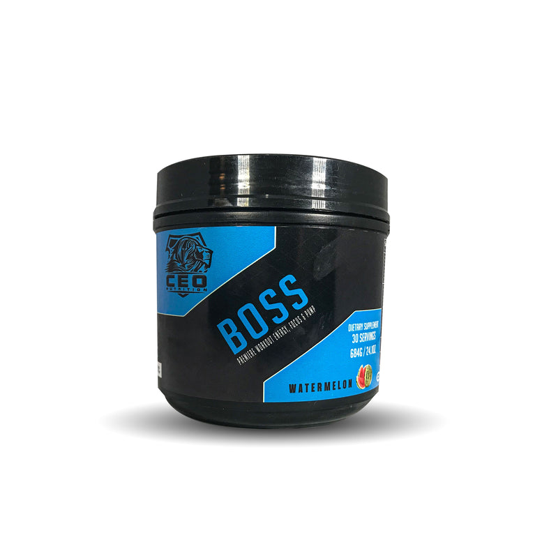 Boss - Pre Workout - CEO NUTRITION