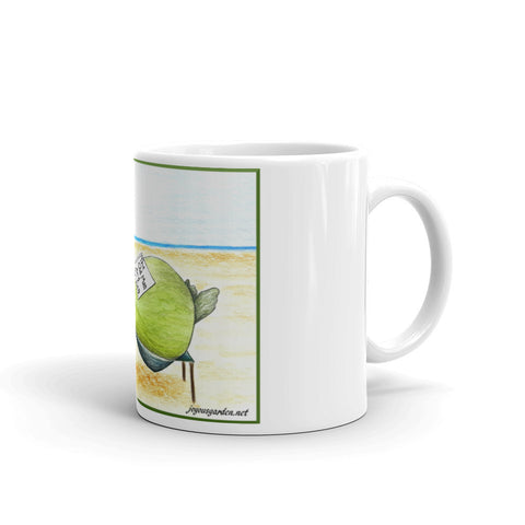 beach lovers mug