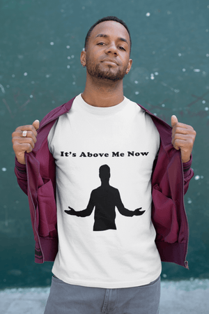 Above Me Now Short-Sleeve Unisex T-Shirt