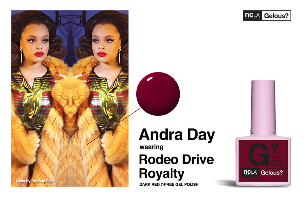 Andra Day in NCLA, made our...day.