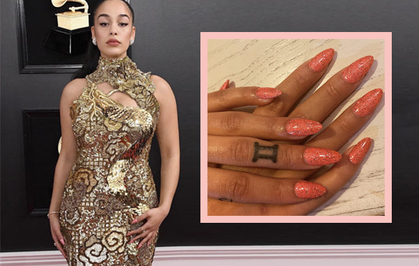 Jorja Smith wearing NCLA Gelous? in Mile High Glam!