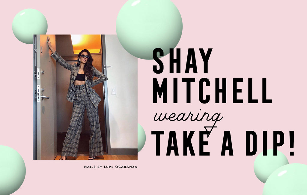 Shay Mitchell wearing NCLA Gelous? in Take A Dip!