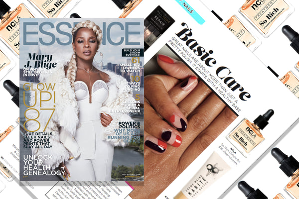 So Rich Grapefruit Cuticle Oil featured in the November issue of ESSENCE Magazine... covered by MARY J. BLIGE!!
