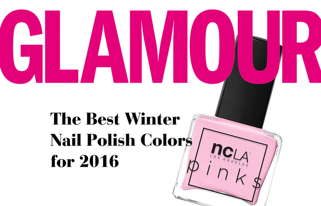 Glamour: The Best Winter Nail Polish Colors for 2016
