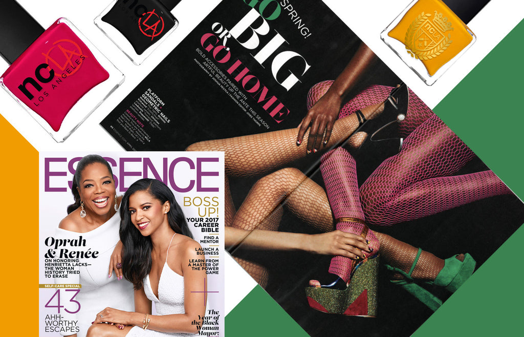 ESSENCE: It's Spring! Go Big or Go Home With Fierce Accessories and Bold Beauty