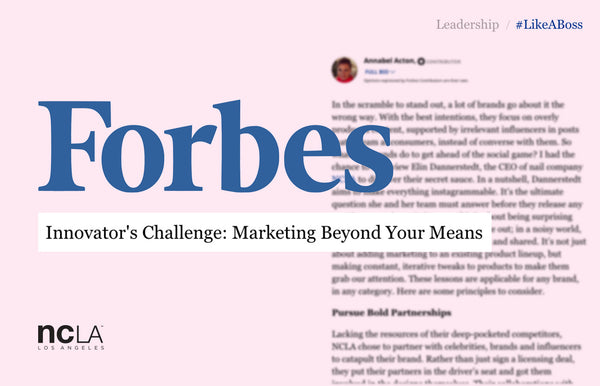 NCLA Co-Founder interview with Forbes!