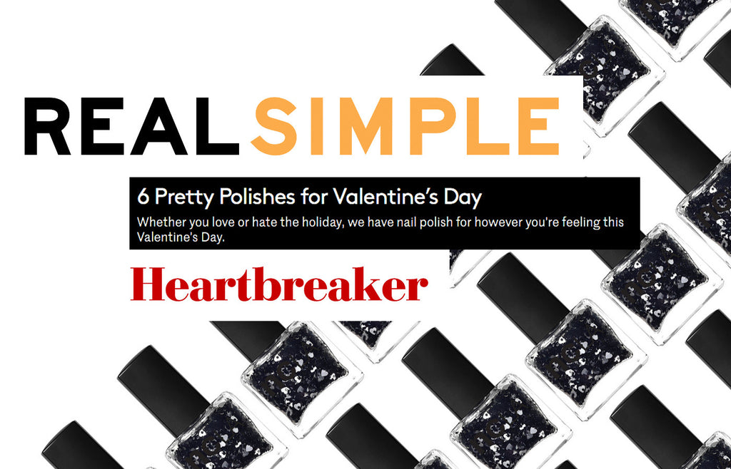 REAL SIMPLE: 6 Pretty Polishes for Valentine's Day