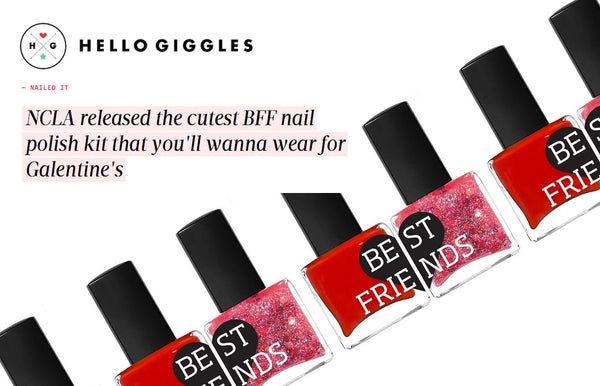 """NCLA released the cutest BFF nail polish kit that you'll wanna wear for Galentine's"""