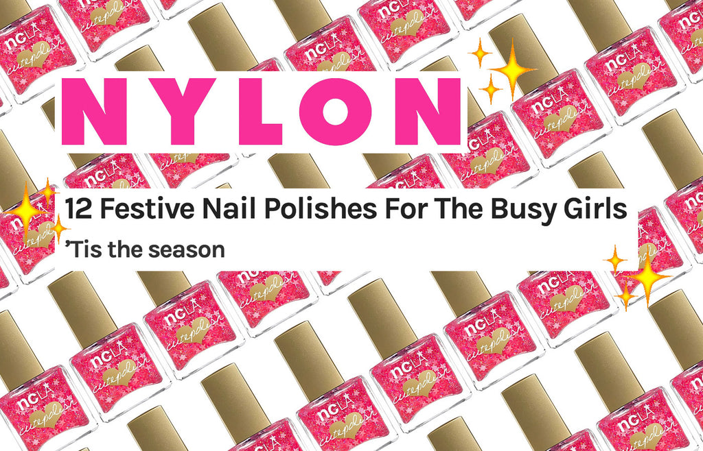 PRESS: 12 Festive Nail Polishes For The Busy Girls