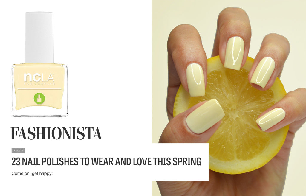 Fashionista: 23 NAIL POLISHES TO WEAR AND LOVE THIS SPRING