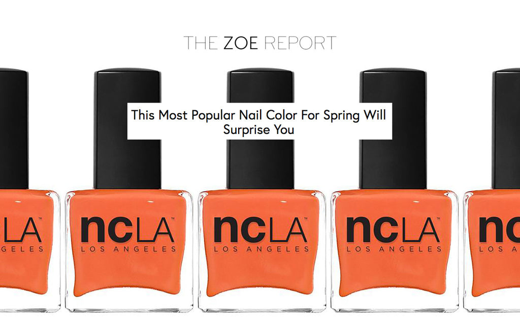 The Zoe Report: This Most Popular Nail Color For Spring Will Surprise You