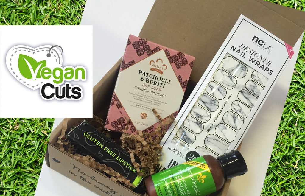 Our VeganCuts Beauty Box arrived!