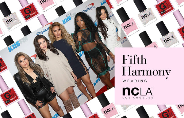 Fifth Harmony in NCLA at the 2016 #iHeartJingleBall