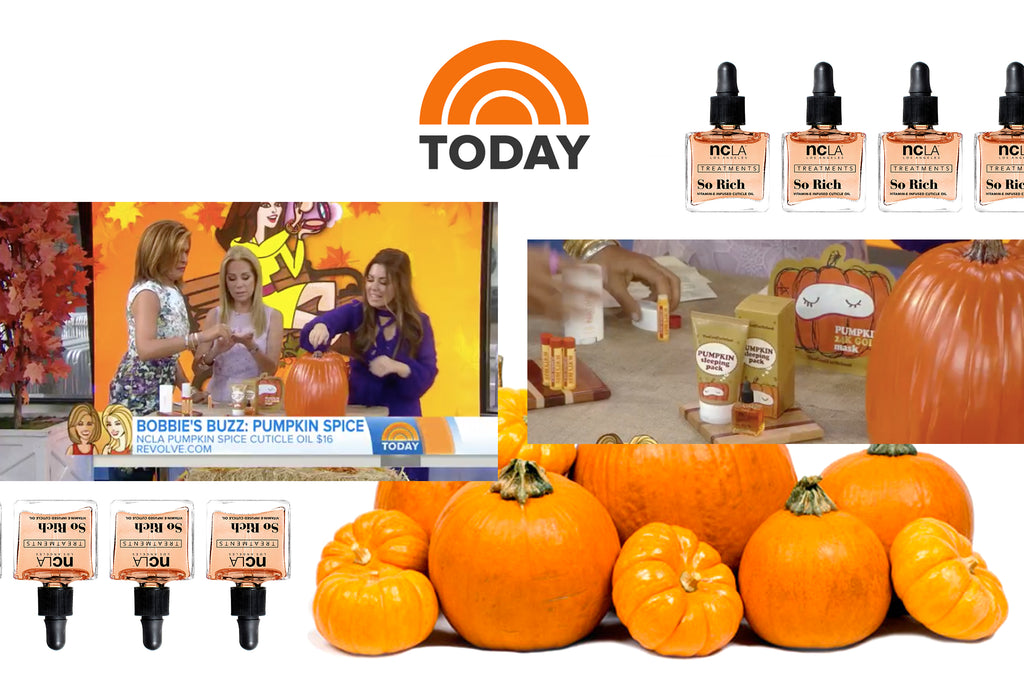 TODAY SHOW: Get Your Pumpkin Spice Fix with These 22 Beauty Products to Try for Fall