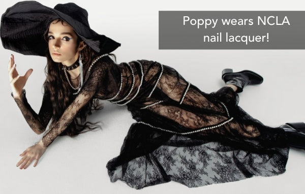 Poppy wears NCLA for Paper Mag!
