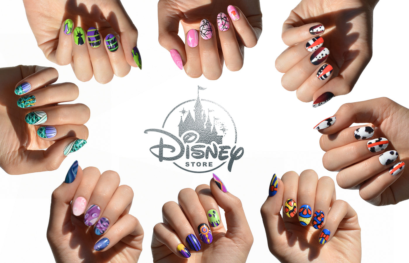 LAUNCHED!: DISNEY x NCLA 8-Piece Good vs. Evil Nail Wrap Collection ...