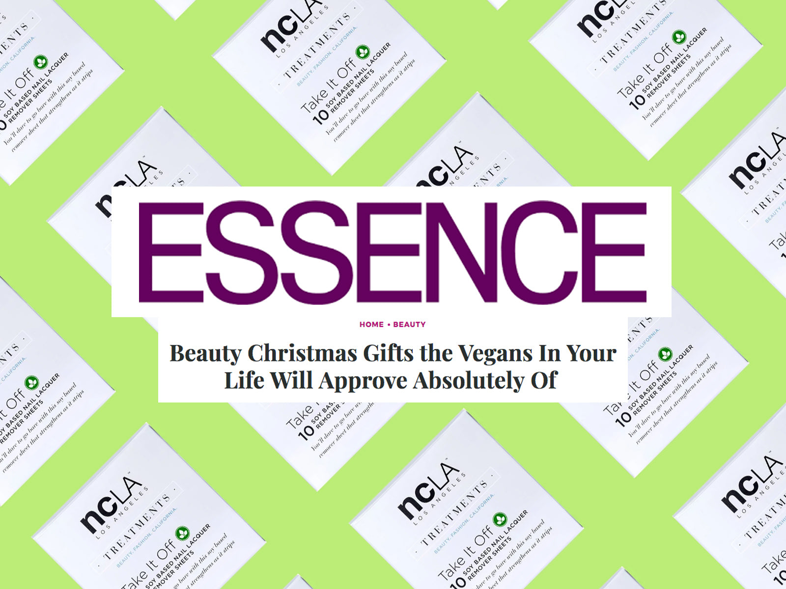 ESSENCE: Beauty Christmas Gifts the Vegans In Your Life Will Approve ...
