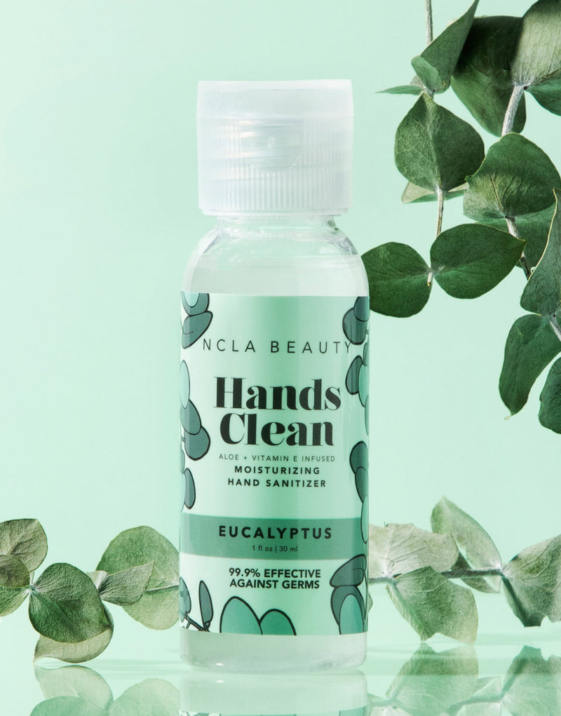 Hands Clean Moisturizing Hand Sanitizer - Eucalyptus