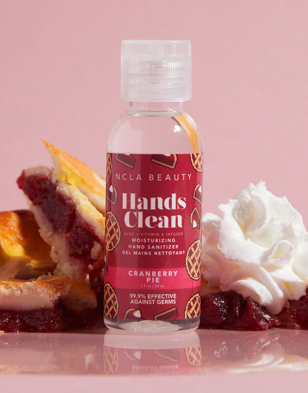 Hands Clean Moisturizing Hand Sanitizer - Cranberry Pie