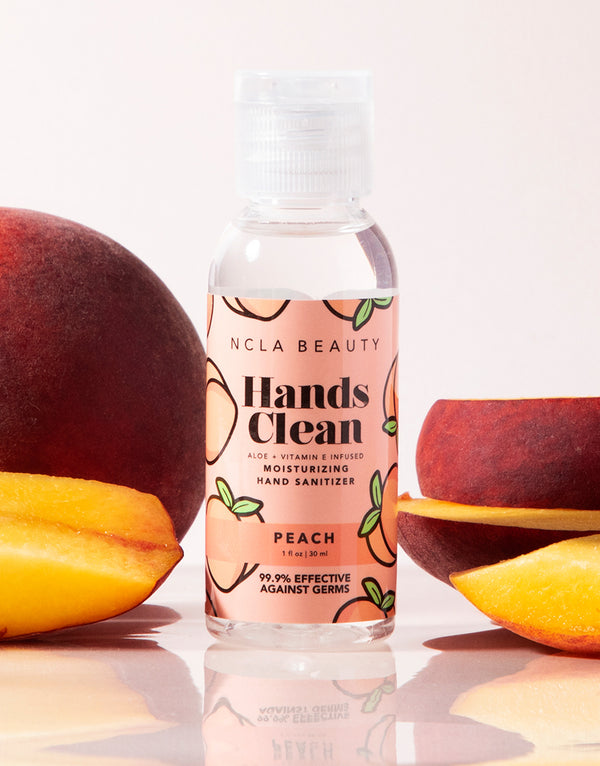 Hands Clean Moisturizing Hand Sanitizer - Peach