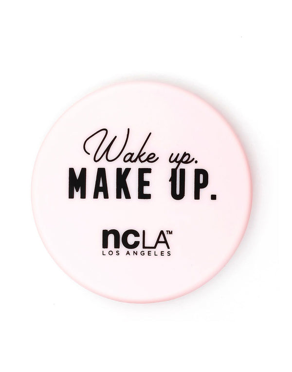 Wake Up. Make Up. Compact Mirror