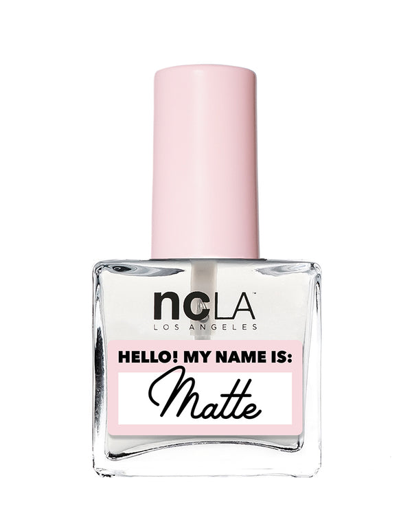 Hello! My Name is: Matte