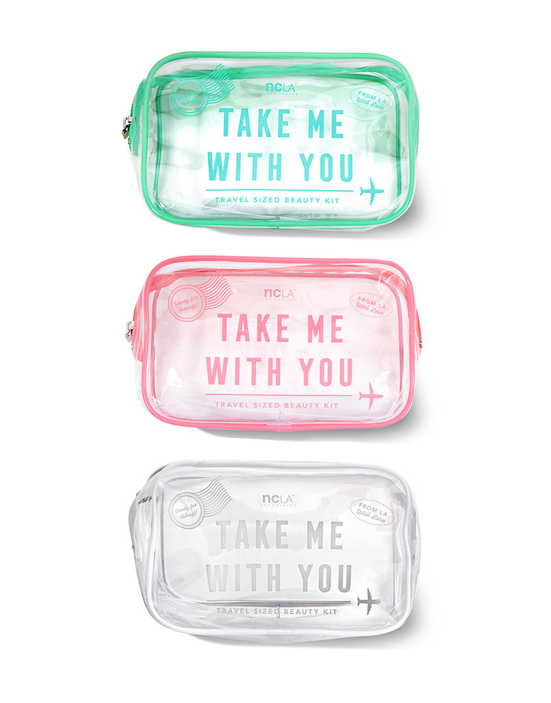 Take Me With You Travel Bag Set