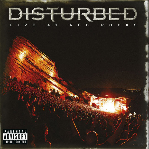 DISTURBED - LIVE AT RED ROCKS (Vinyl)