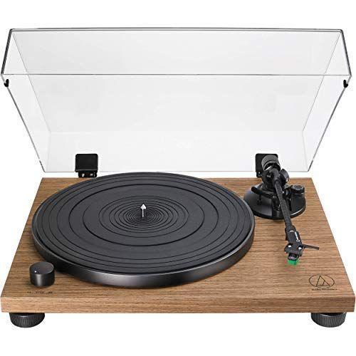 AT-LPW40WN - Fully Manual Belt-Drive Turntable, Walnut