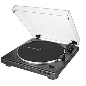AT-LP60X-BK Fully Automatic Belt-Drive Stereo Turntable, Black
