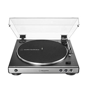 AT-LP60XUSB-GM Fully Automatic Belt-Drive Stereo Turntable (Analog & USB), Gunmetal