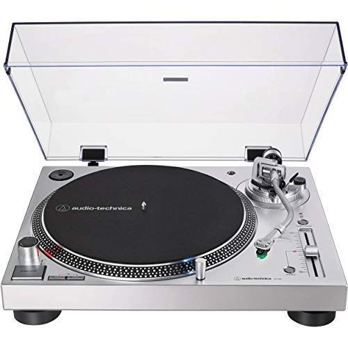 AT-LP120XUSB Direct-Drive Professional Turntable (Silver)