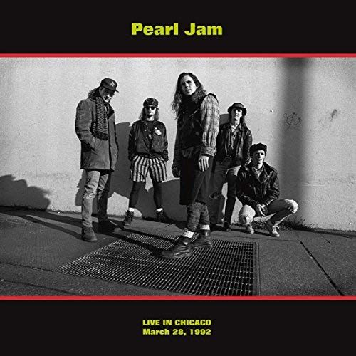 Live In Chicago (March 28, 1992) Pearl Jam (Vinyl)