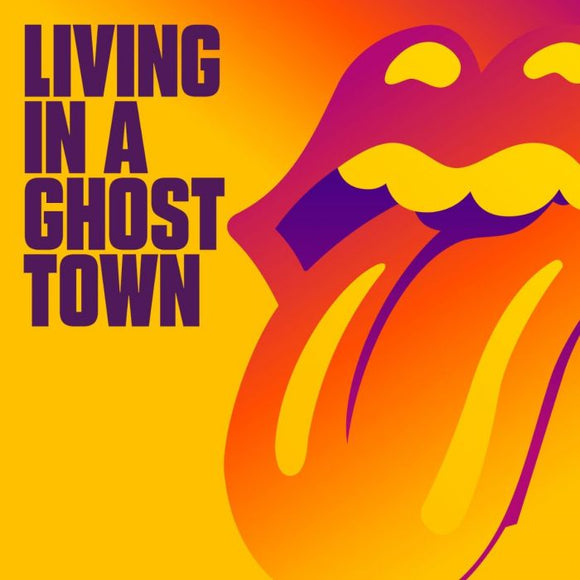 "Living In A Ghost Town [10"" Orange Vinyl Single] (Vinyl) (PRE-ORDER FOR THE JUNE 26TH RELEASE)"