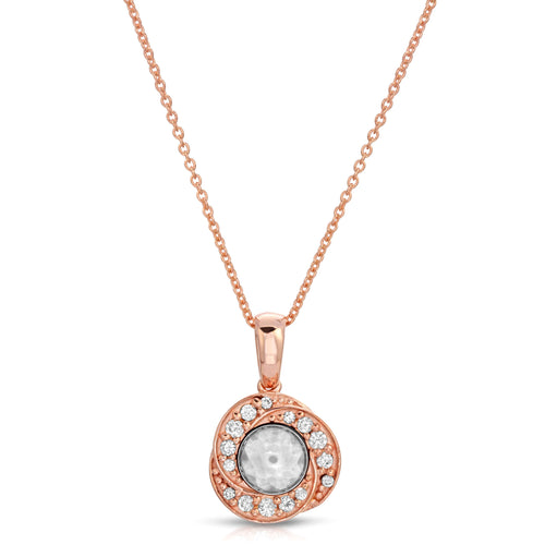 Hope Rose Gold Modern Locket