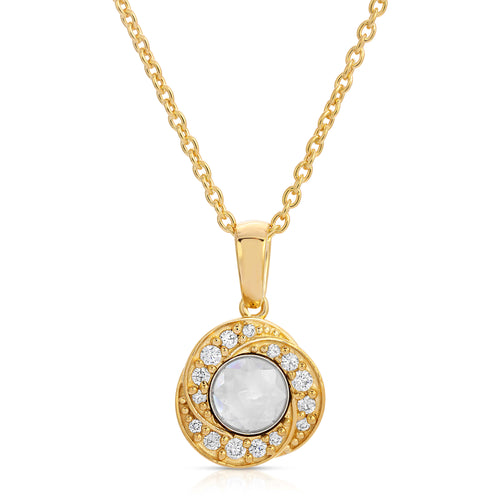 Hope 14K Yellow Gold Modern Locket