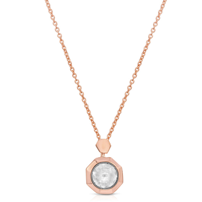 Renewal Rose Gold Modern Locket