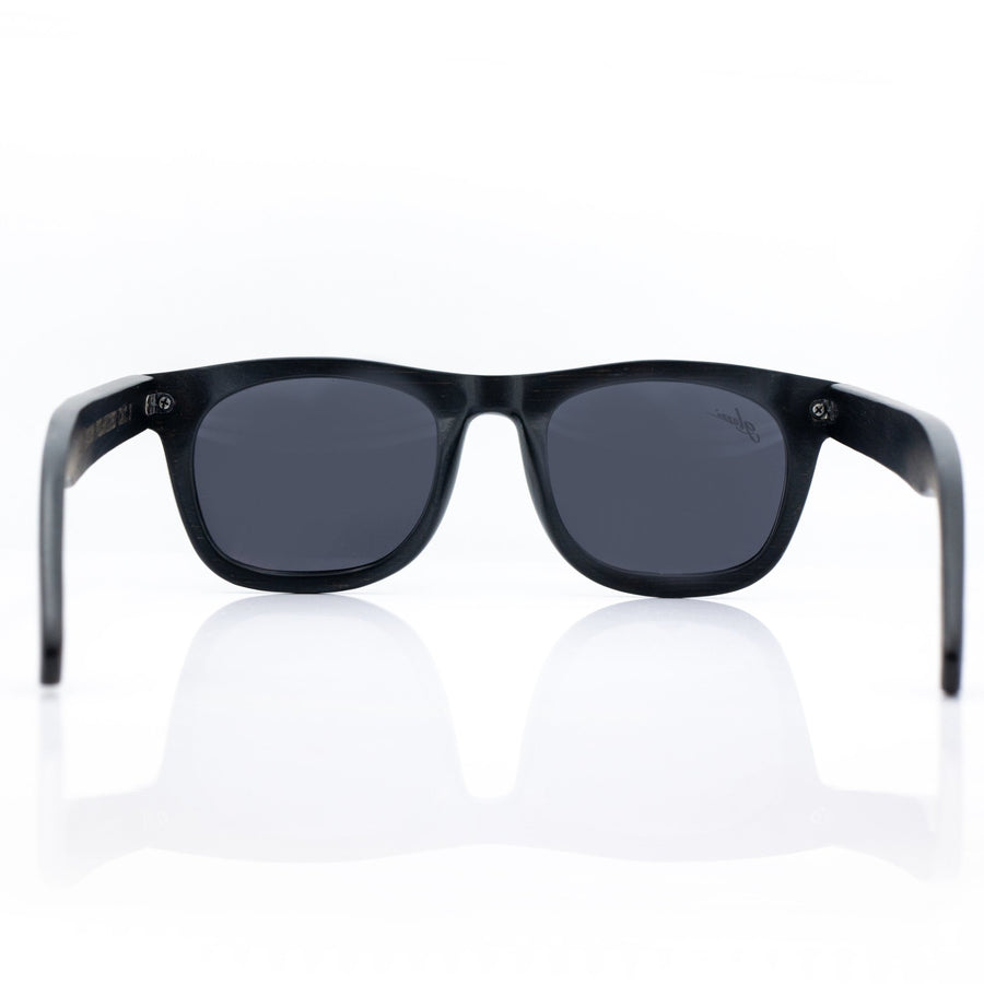 The Adventurer - Black Bamboo - glozzi Holzbrille Holzsonnenbrille Sonnenbrille aus Holz Herren Bambus
