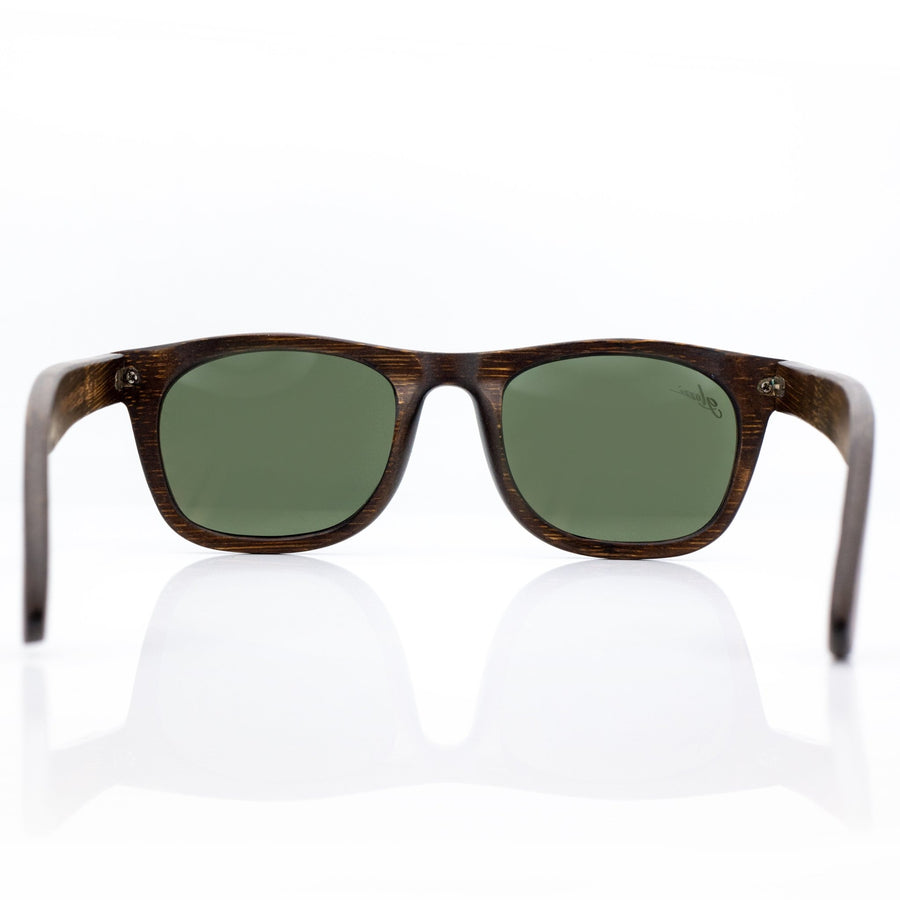 The Adventurer - Brown Bamboo - glozzi Holzbrille Holzsonnenbrille Sonnenbrille aus Holz Herren Bambus