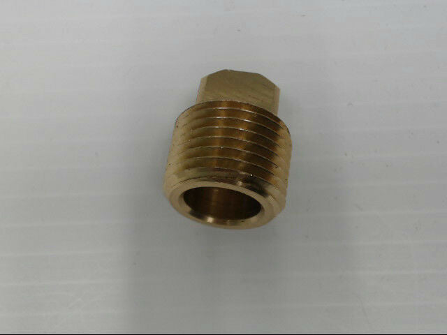 "Brass P-101-8 Male Regular Plug Pipe 1/2"" Adapter Fitting"