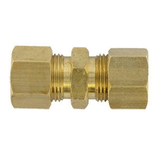 "BrassCraft 1/4"" OD Tube Compression Union 62-4X *Pack of 10*"