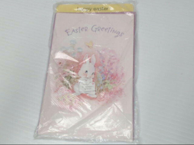 "American Greetings Happy Easter Card ""Easter Greetings"" Someone Retail Pack of 6"