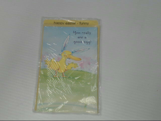 "American Greetings Happy Easter Funny Card ""You Really Are A"" Retail Pack of 6"